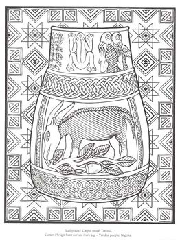 african design coloring pages - photo#1