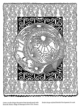 93 Coloring Pages Folk Art