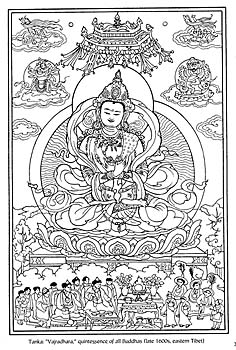 Tibetan Designs Fine Art Coloring