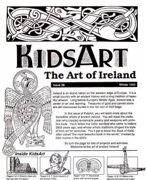 KidsArt Celtic Ireland Paperback Booklet